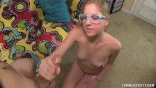 Hot Teen Gets A Cumblast