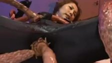 Asami ogawa gets fucked by huge crab