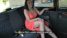 FakeTaxi - Ass licking blowjob beauty