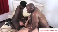 Ashlynn Leigh enjoys interracial fourway