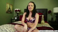 OnlyTeenBJ Katie tells us about her first BJ