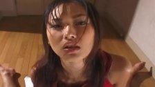 Luscious Japanese babe Mai Kuramoto wanks a