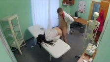 Fake Hospital - Sexy patient moans due to orgasm
