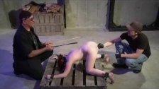 BDSM Master Trains Dungeon Apprentice