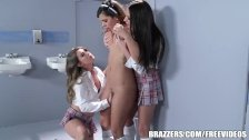 Brazzers - Naughty girls have a hot threesome
