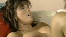 Babewatch Cumshot on brunette's big tits