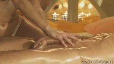 Exotic Blonde MILF Massage