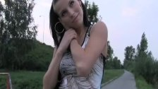 Movie:PublicAgent - Horny brunette i...