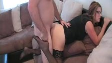 Milf  Secretary takes Young Cock