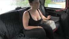 FakeTaxi London taxi in spycam sex tape