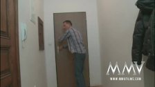 MMV Films German teen gets picked up and fuck