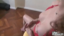 First Timer Viviana in lingerie