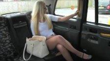 FakeTaxi - Posh blonde gets a creampie