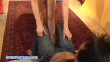 Pussy playing teen and Striptease