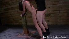tied up girl rear fucked