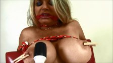 Vicky Vette Tied Up & Teased!