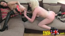 FakeAgentUK - threesome with dirty hot brits