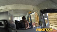 FakeTaxi Sucking cock to get to the top