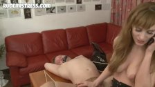 femdom fucks drunk guy in his ass