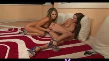 Watch as Monika Benz and Aleska Diamond get t