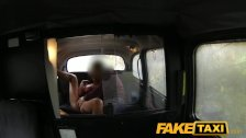 FakeTaxi - Busty milf gets hot lips on cock