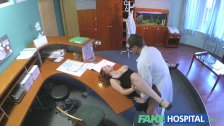 FakeHospital - Busty new staff member sucking