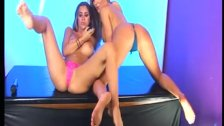 Ashley Emma & Lori Buckby on screen together