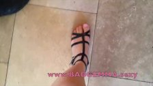 Bad Gemma new gladiator sandals