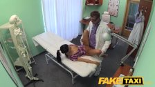 FakeHospital - Patient enjoys nurse massage