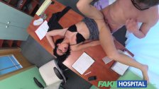 FakeHospital - Sexy cleaning lady gets down