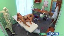 FakeHospital - Naughty blonde nurse