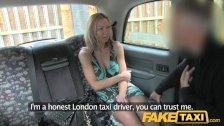 FakeTaxi - Blonde Polish babe with hot body