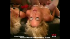 Two lovely blonde babes loves to get Jizzed