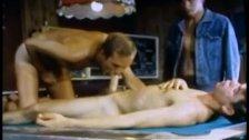 Pool Hall Threeway - Classic Gay Porn