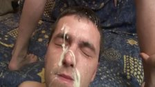 Gay Big Load Of Cum On His Face