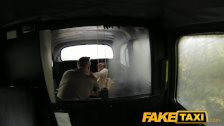FakeTaxi - Tit flash for taxi cash