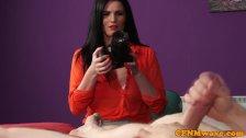 Model femdom Tasha Holz loves the camera