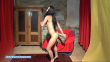 Cute gypsy teen lapdances and gets hot finger