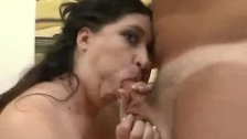BBW Dominique Gets Picked , Stripped And Cock