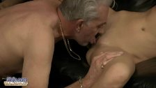 Old man analsex w...