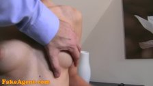 FakeAgent Perfect creampie for 19 year old