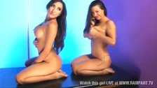 Dirty Jada & Tiffany Chalmers girl on girl
