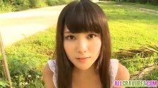 Kurumi Takahashi loves nature activities