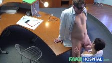 FakeHospital Dirty doctor gets his cock deep