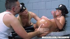 Two dirty cops love anal  - brazzers
