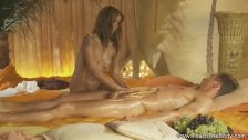 Blonde Babe Gives The Best Massage!