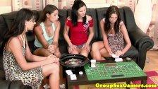 Lesbian sexgame session