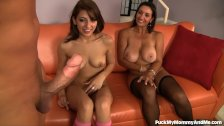 - Mom and Teen Share A T...