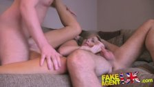FakeAgentUK Swinging couple try threesome