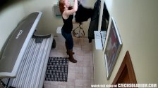 Teen Redhead with Perfectly Shaved Tight Puss
